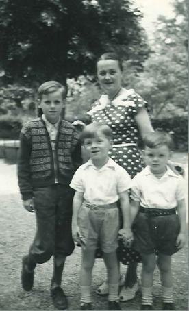 My mother, Herta Hofer