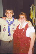 My son the Eagle Scout