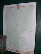 Map of Philmont Trek