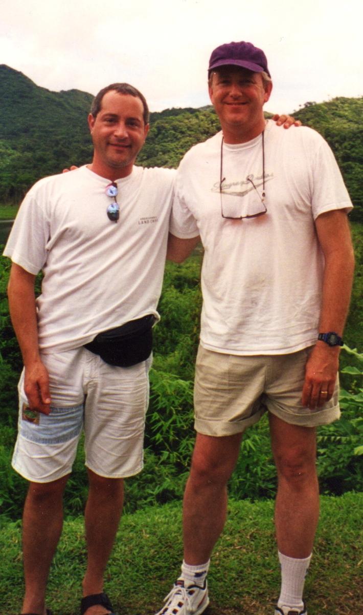 Patrik & Eric -  Grenada 1998