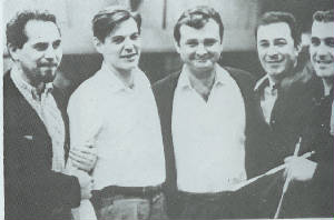 composer and musicians of Getz-Gilberto 1963