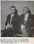 Jazz Magazine - novembre 1959 - Stan Getz & Mezz Mezzrow