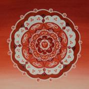 Red Chakra Mandala