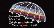 I would like to catsh a rainbow for you