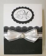 CAS Elegant Wedding Card