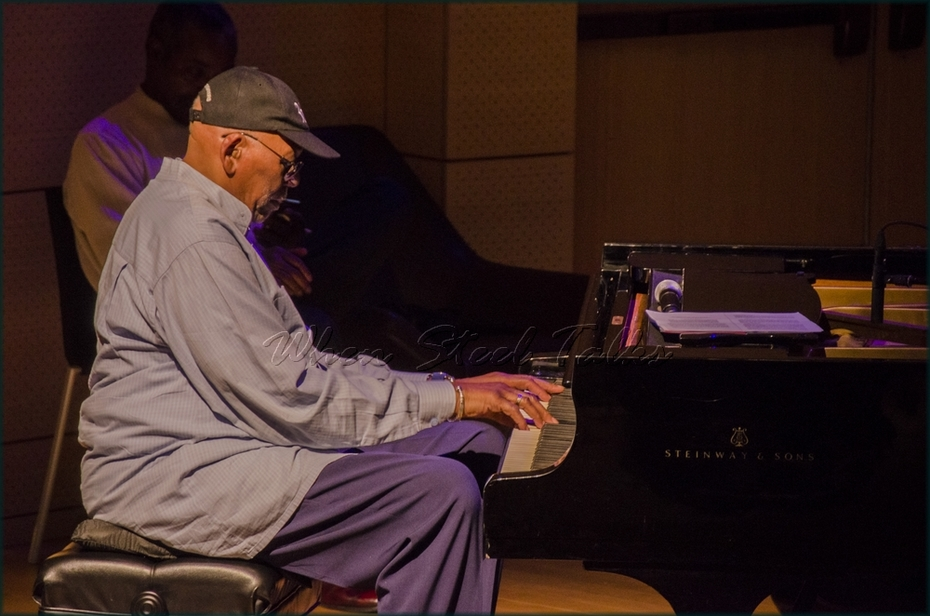 """Randy Weston, piano (currently the New School Jazz Artist-in-Residence) - from: """"Randy Weston presents Symposium in the Drum - From Africa to the New World"""""""