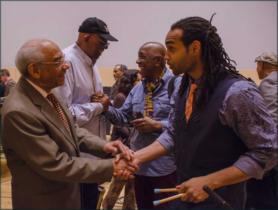"""Panelist Dr. Acklyn Lynch and panist Khuent Rose - from: """"Randy Weston presents Symposium in the Drum - From Africa to the New World"""""""