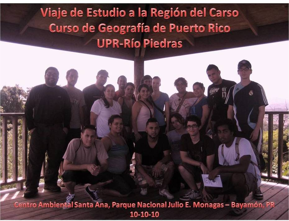 Curso de Geografia de Puerto Rico UPR - Rio Piedras