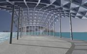 01 test PT pavillon on the sea