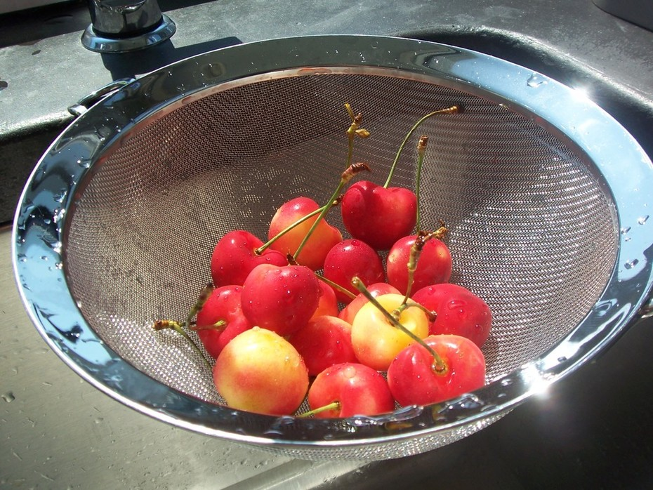Life is a basket of cherries