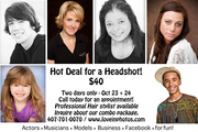 HEADSHOT PROMOTION (October Special)
