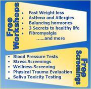 FREE Workshops Free Wellness Screenings