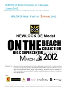 NEWLOOK DE Model SUMMER ON THE BEACH COLLECTION 2012