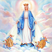 sou devota de Maria e de Jesus seres de luz que me proteje