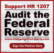Support H.R.1207 - Federal Reserve Transparency Act of 2009