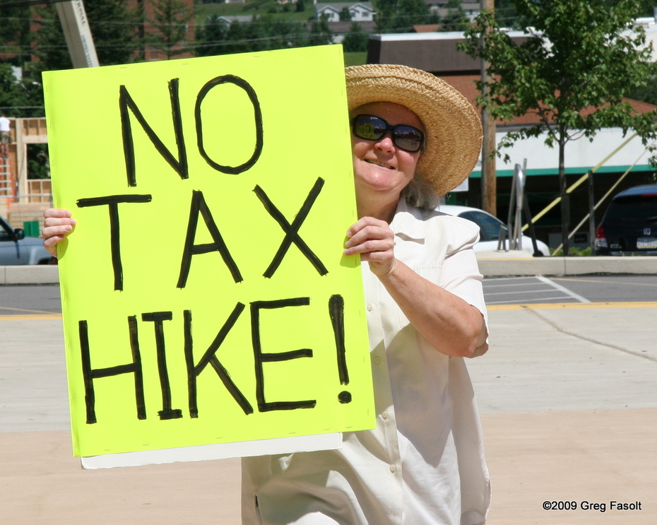 Free people -- not tax slaves!