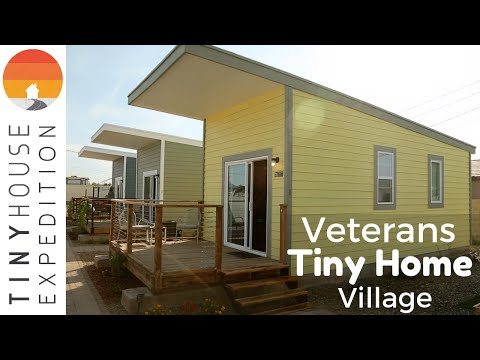 First-Ever Veteran's Tiny House Community in Phoenix