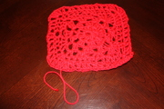 Red Heart Squares