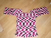 Variegated long vest/slipover/sweater/dress?