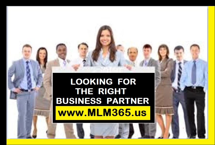 Looking For The Right Business Partner