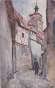 A By Street in Rothenburg, by J Douglas