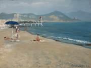 пляж Утром