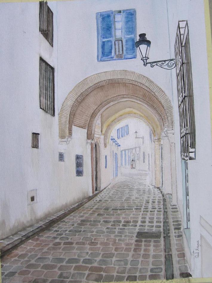 Tunis, rue el Pacha
