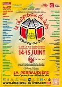 Chapiteau du livre 2014 - Saint Cyr sur Loire