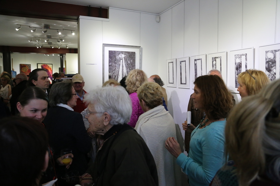 18 mai 2016 - Vue d'ensemble du vernissage