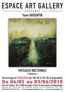 Affiche Yann ARGENTIN