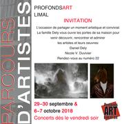 Parcours d'Artistes de ProfondsArt- Limal fin septembre et début octobre