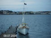 Min nuvarande båt CGP motorkryssare samt min förra renovering mysingen 4