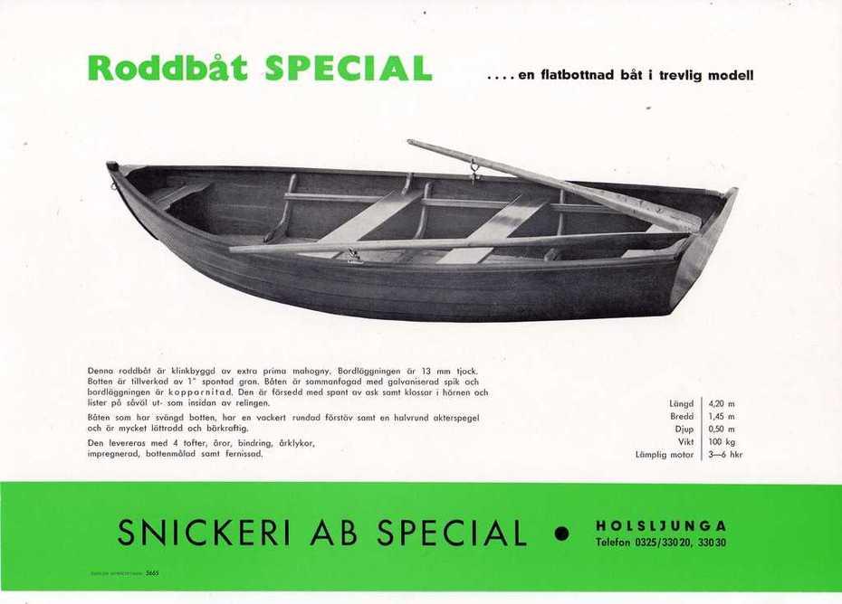 Roddbåt Special