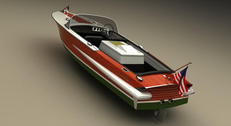 1962 holiday Chris Craft