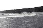 Starten har gått Norasjön 1961