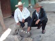 Don Timoteo y el Arqueólogo Francisco Mendoza