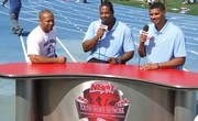 Me, Jonah and Coach D at MG Track Meet March12th 2011