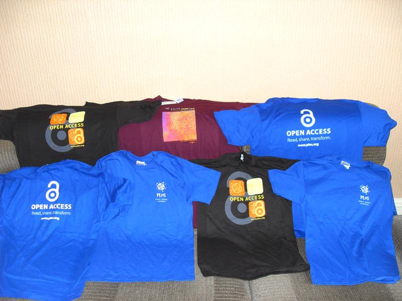 PLoS Shirts