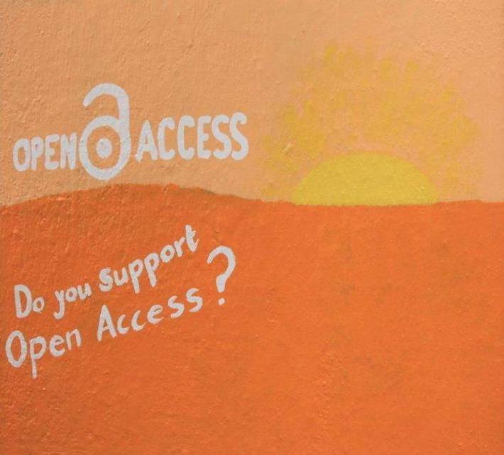 The Open Access sun has risen on the Student Wall!