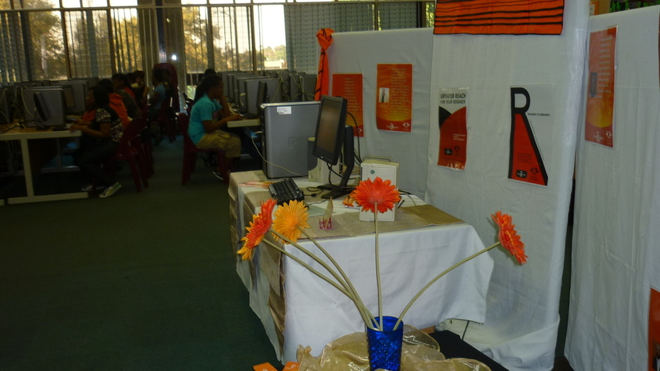 OA display, Bunting Road Campus