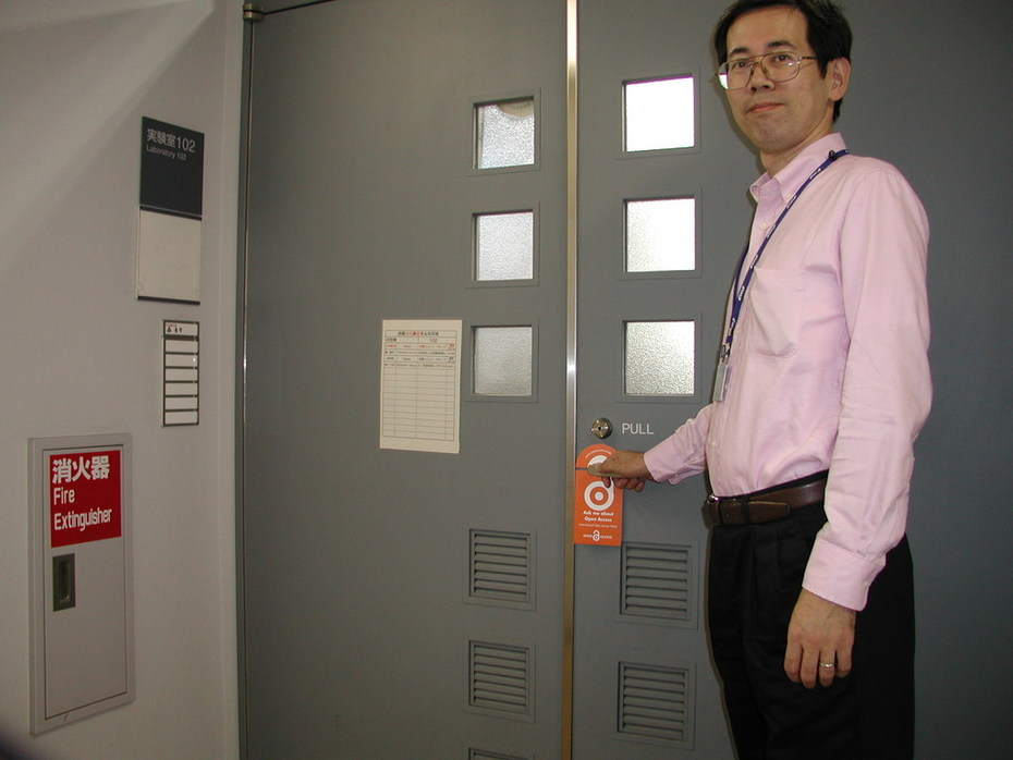 .@tokyo1406's #OAWeek doorhangers