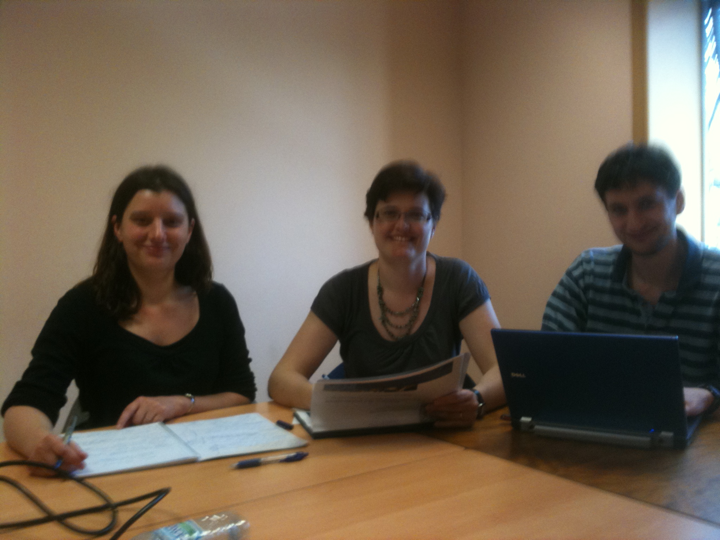 Setting up the training OA sessions for OAWeek2011