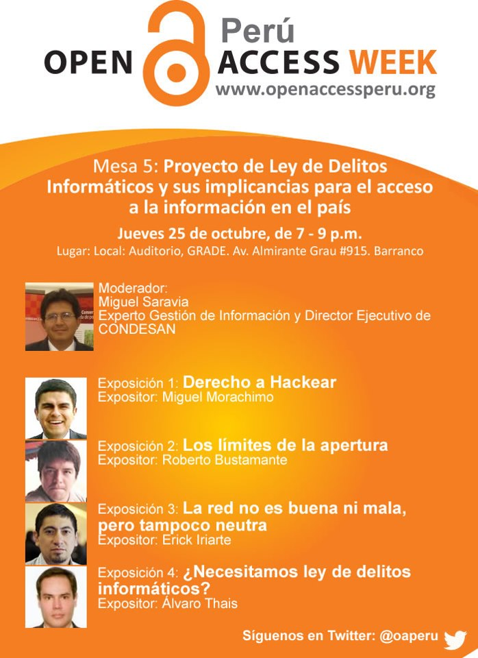 Open Access Week - Peru 2012