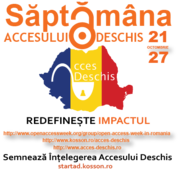 Open Access Week Romania