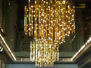 Dripping Lights Gold