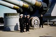 0136  Big Guns on USS Missouri