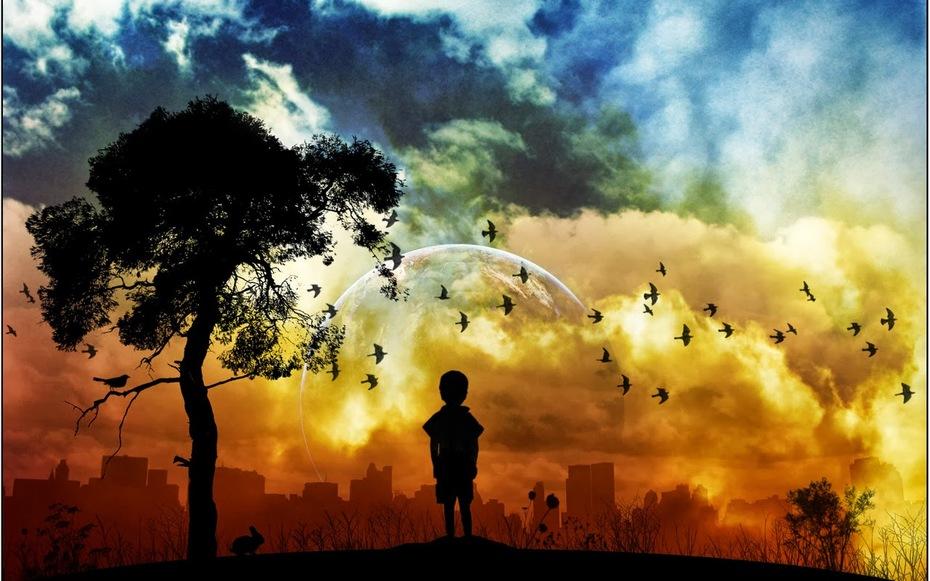 O menino e o Céu