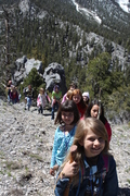 Troop #301 takes a hike!