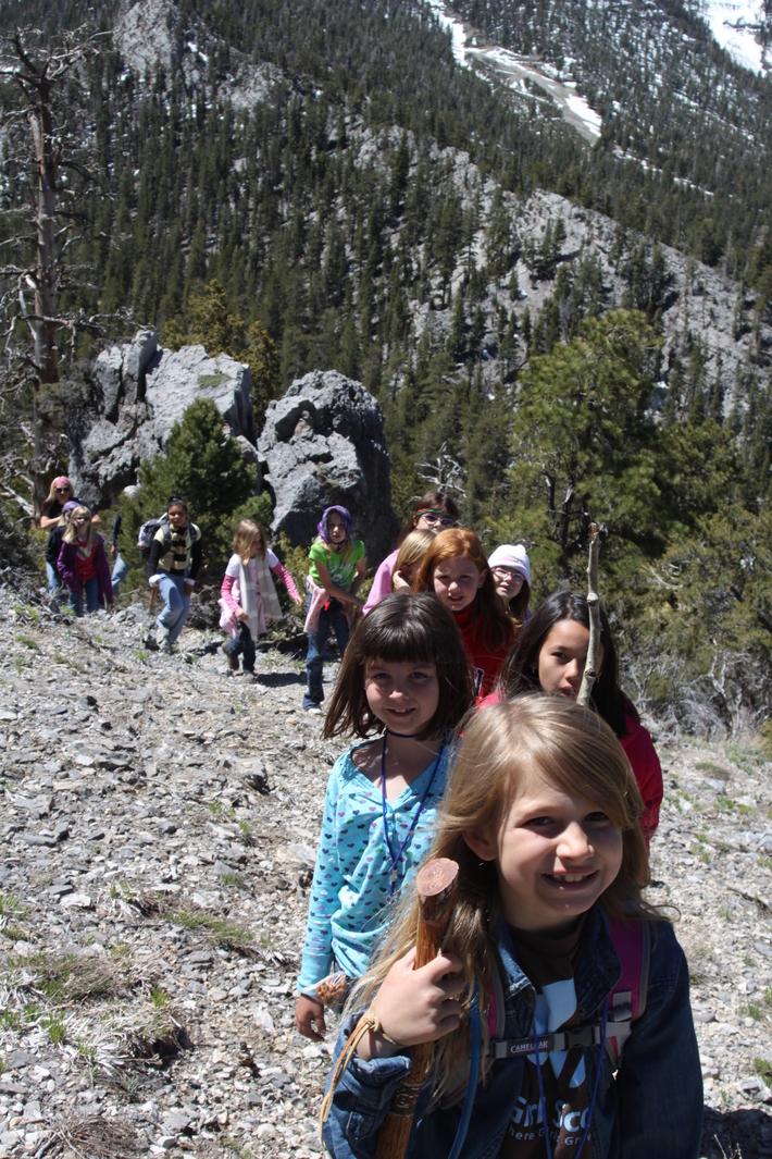Troop #301 takes a hike!
