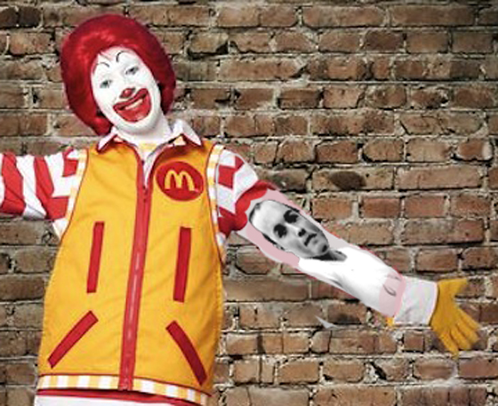 Ronald Reveals *His* Jackass Forearm Tat